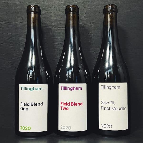 Tillingham Domain Wines 2020 Sussex vegan gluten free