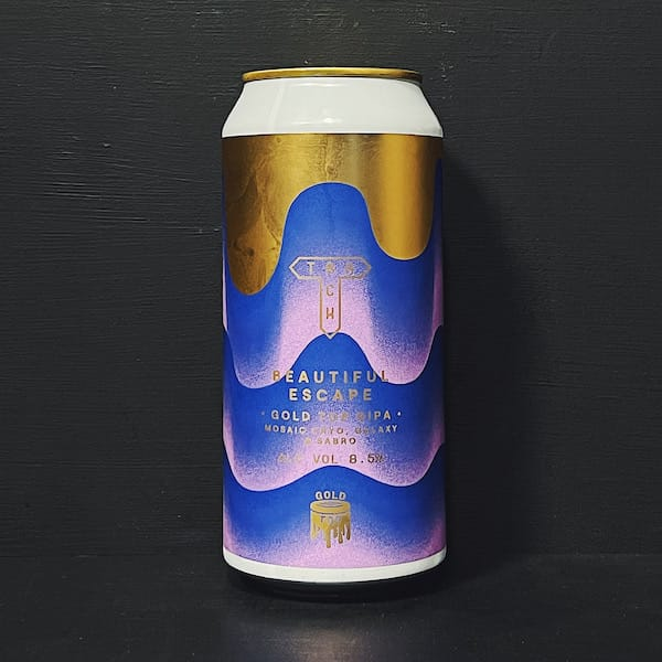 Track Beautiful Escape Gold Top DIPA Manchester